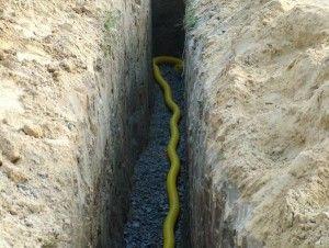 перфорированная труба в канализации