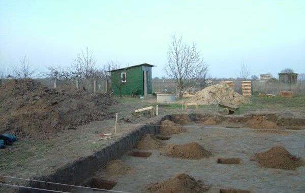 Фундаменты каркасного дома 121 м2