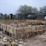 Рандбалка готова к бетонированию