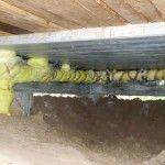 Устанавка и изоляция канализации