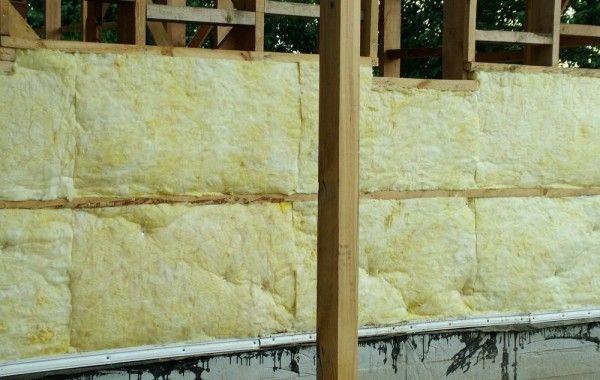 Утепляем стены каркасного дома 121 м2