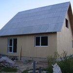 P8150081 150x150 - Обшиваем влагостойкой плитой каркасный дом 121 м2