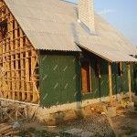 Обшивка стен ветроизоляцией