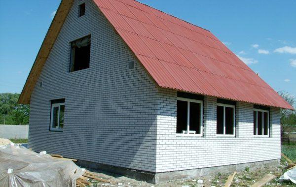 2008г Каркасный дом с облицовкой 121 м2