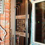Разводка труб отопления и водопровода