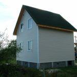 Вид на дом со двора