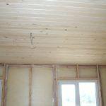 Окна и потолок