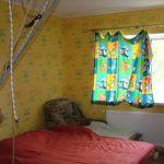 Спальня в каркасном доме