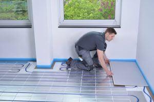 clean floor heating 300x200 - Где применять сухой водяной теплый пол