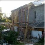 Верхняя обвязка каркасного дома киев