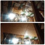 Подшивка потолка второго этажа OSB