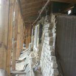 Разборка коробки старого дома