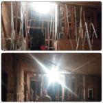 Разводка электрики на потолке второго эт