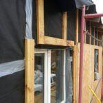 Монтаж вентилируемого фасада каркасного дома