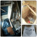 Изготовление лестницы в каркасном доме