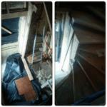 Лестница в карксном доме Киев