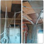 Проводка электрики в каркасном доме Киев