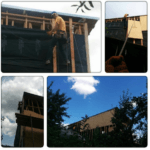 Обшивка каркаса ветробарьером Киев