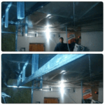 Устройство короба под центральную вентиляцию
