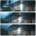 Закладка трубы цнтральной вентиляции в каркасном доме