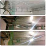 Монтаж воздуховодов в спальне