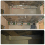 Воздуховод в каркасном доме готов