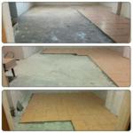 Укладка плитки на пол кухни