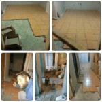 Укладка плитки на пол коридора