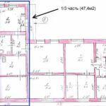План дома до реконструкции