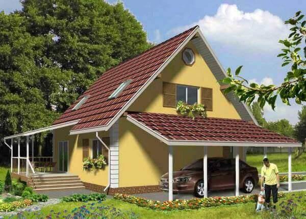 энергоэкономичный дом 120 м2